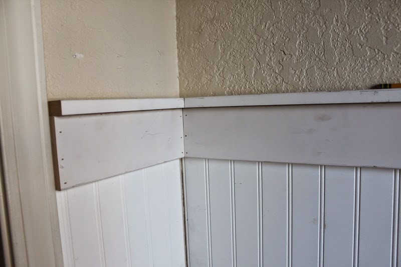 wainscoting in the stairway amp gallery wall all mimsy home